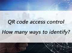 How many ways to identify QR Code Card Reader?